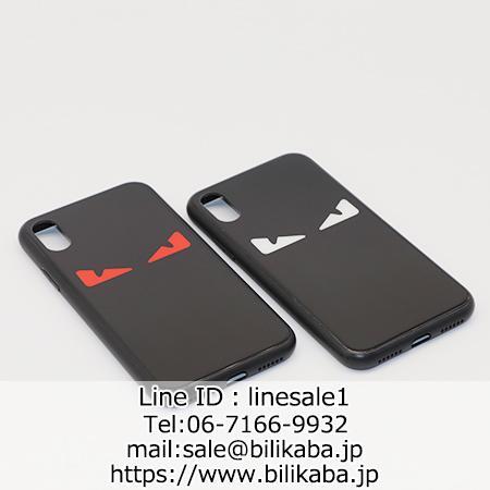 フェンディ iphonexケース 背面ガラス