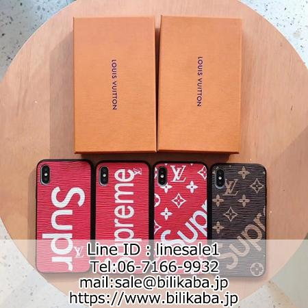 supreme galaxy s10/s10 plus/s10e ケース lv