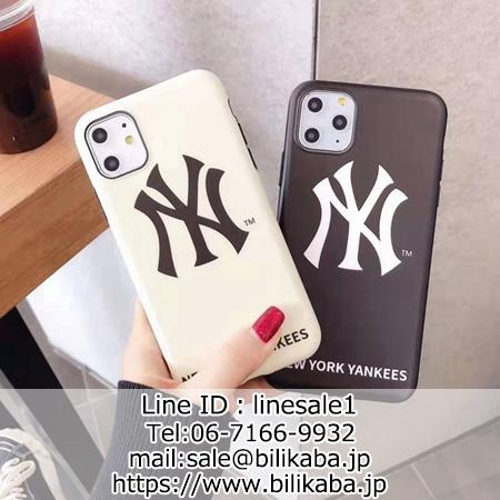 New York Yankees iphone11 proケース 個性洒落