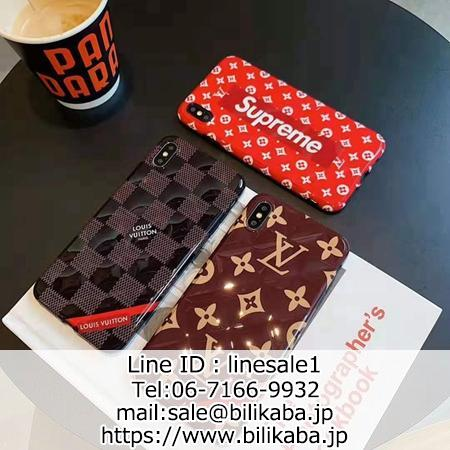 louis vuitton x supreme iphone11 pro maxコラボ携帯ケース