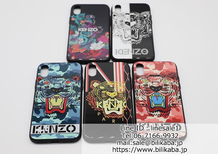 ケンゾー iPhoneXケース タイガー