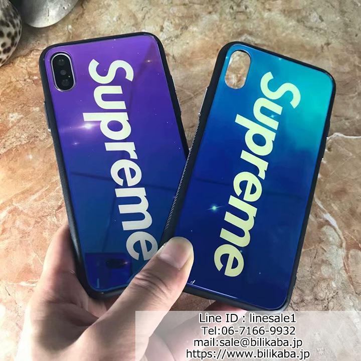 supreme iphoneXカバー 夜光