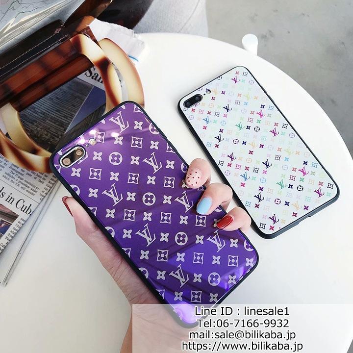 lv iphonexケース 背面ガラス