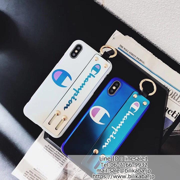 チャンピオン iphonexケース ジャケット