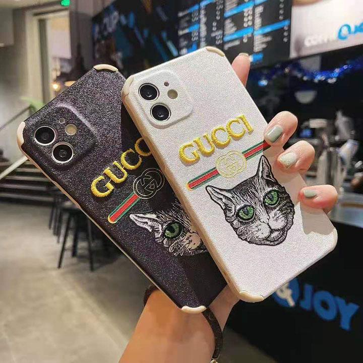 人気 Gucci アイフォン12携帯ケース