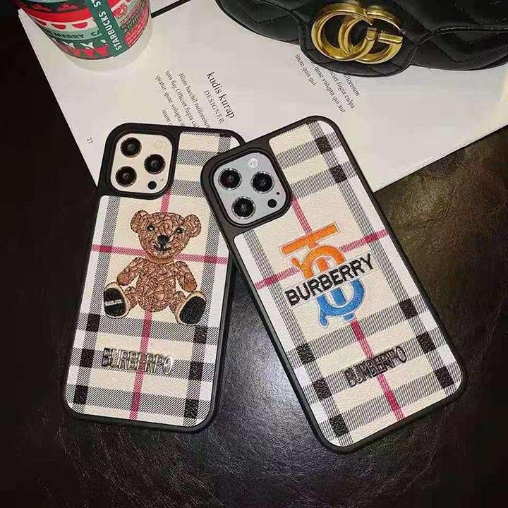 ブランド iphone12カバー バーバリー