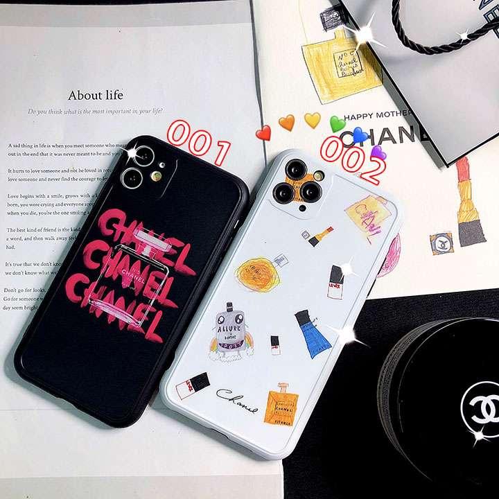 芸能人愛用iphone12携帯ケースchanel