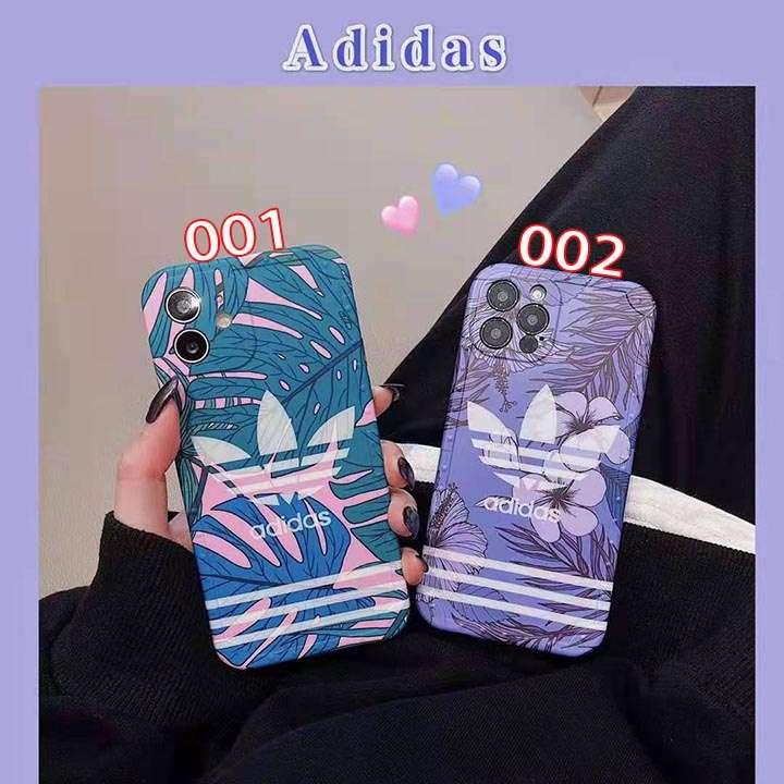芸能人愛用 adidas アイホン12スマホケース