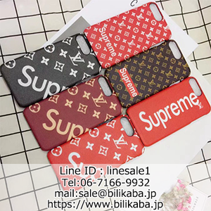 lv x supreme iphone8ケース
