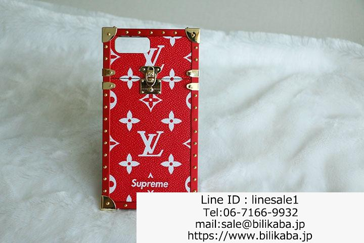 lv supreme iphone8plus ケース