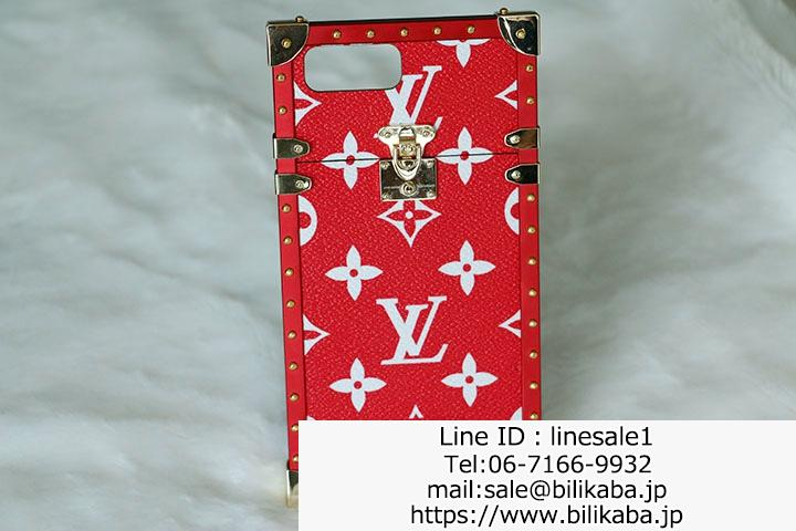 lv supreme iphone7 ケース