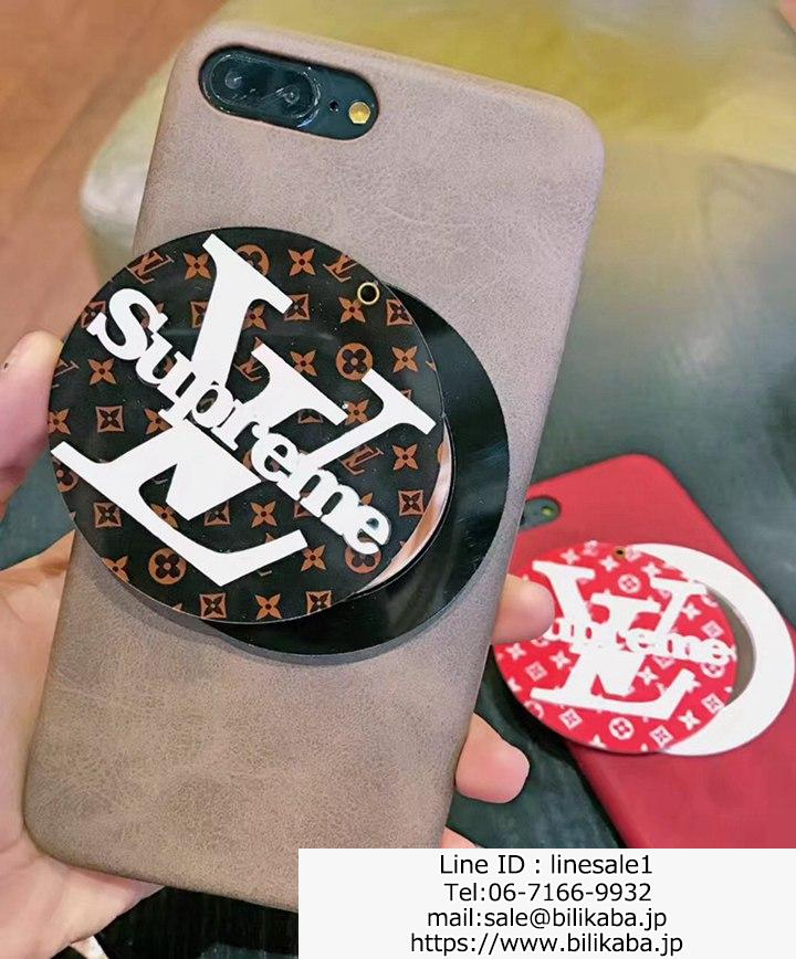 LV X Supreme iphone8ケース 鏡付き