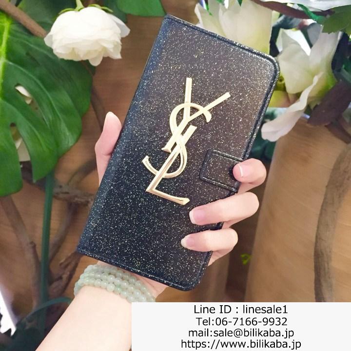イヴサンローラン iphoneX ケース 手帳型