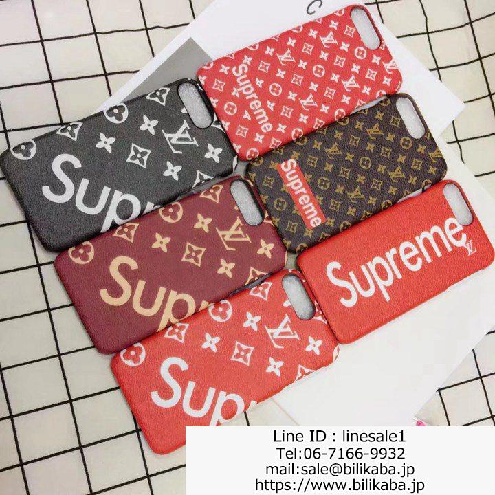 シュプリーム x ルイヴィトン iphone8ケースジャケット
