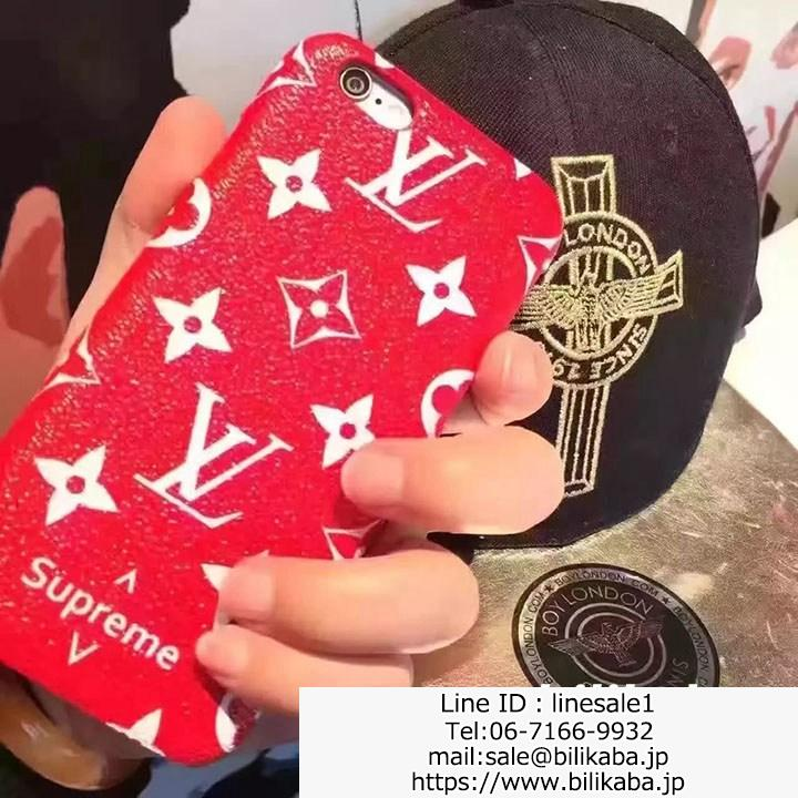 supreme lv iphone7ケース