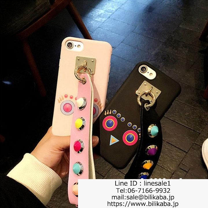 fendi iphone7ケース スタッズ付き