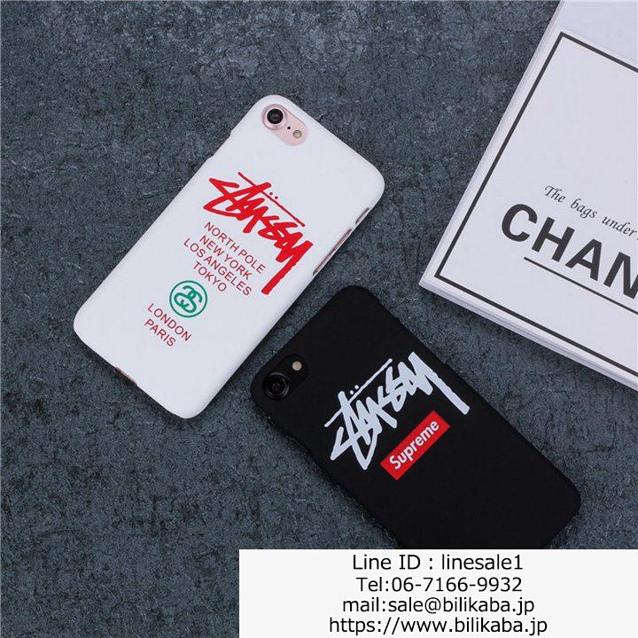 Stussy iphone7plusケース カップル用