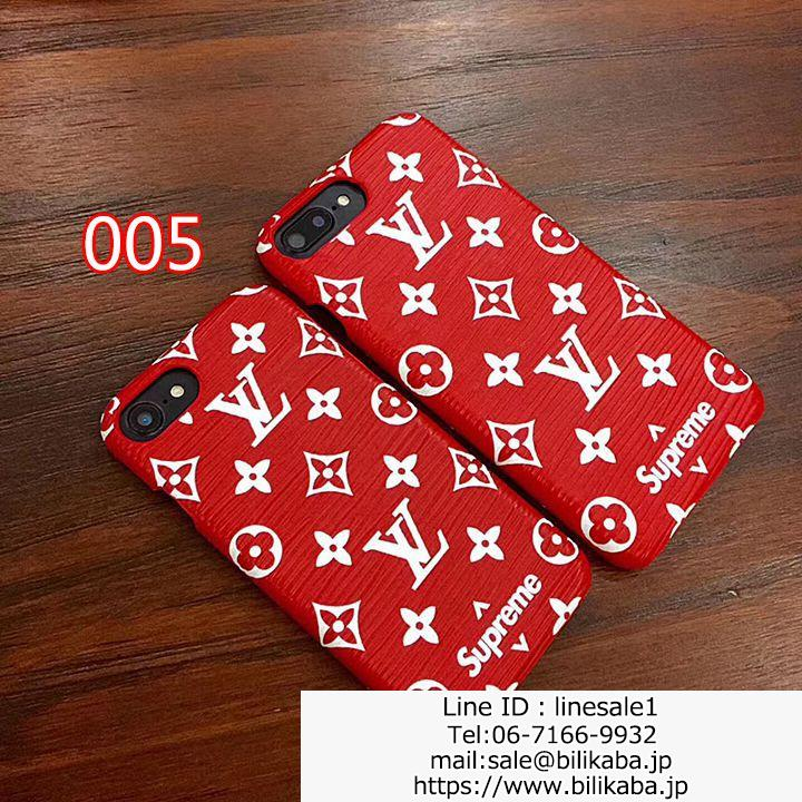 supreme lv iphone8ケース ペア用
