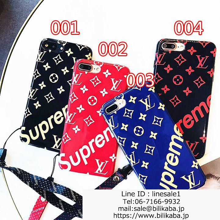 SUPREME LV iPhone8 PLUSケース