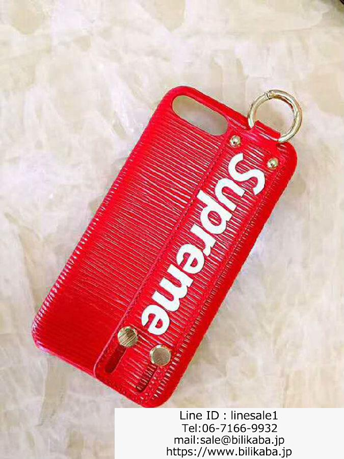 supreme iPhone8ケース 落下防止