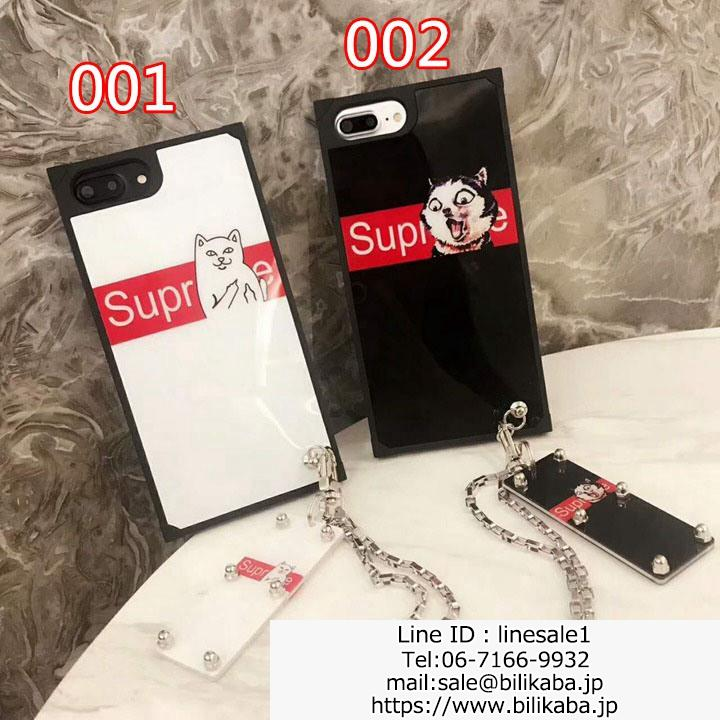 Supreme+RIPNDIP iphone8ケース