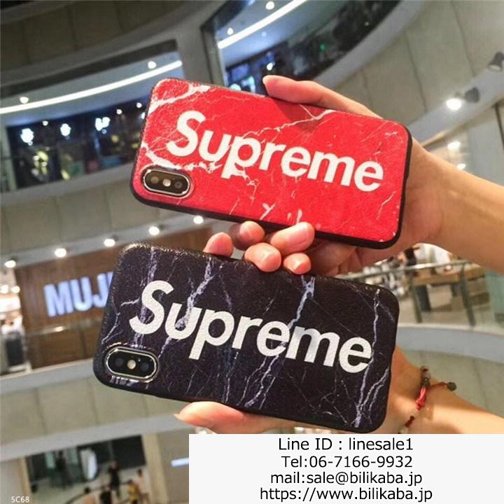 supreme iphoneXケース 芸能人愛用