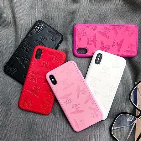ボーイロンドン iPhonexs maxケース 大理石紋