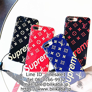 supreme lv iPhone8ケース